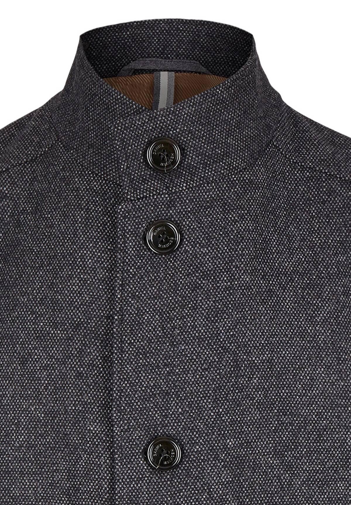 Manteau en laine Donegal /