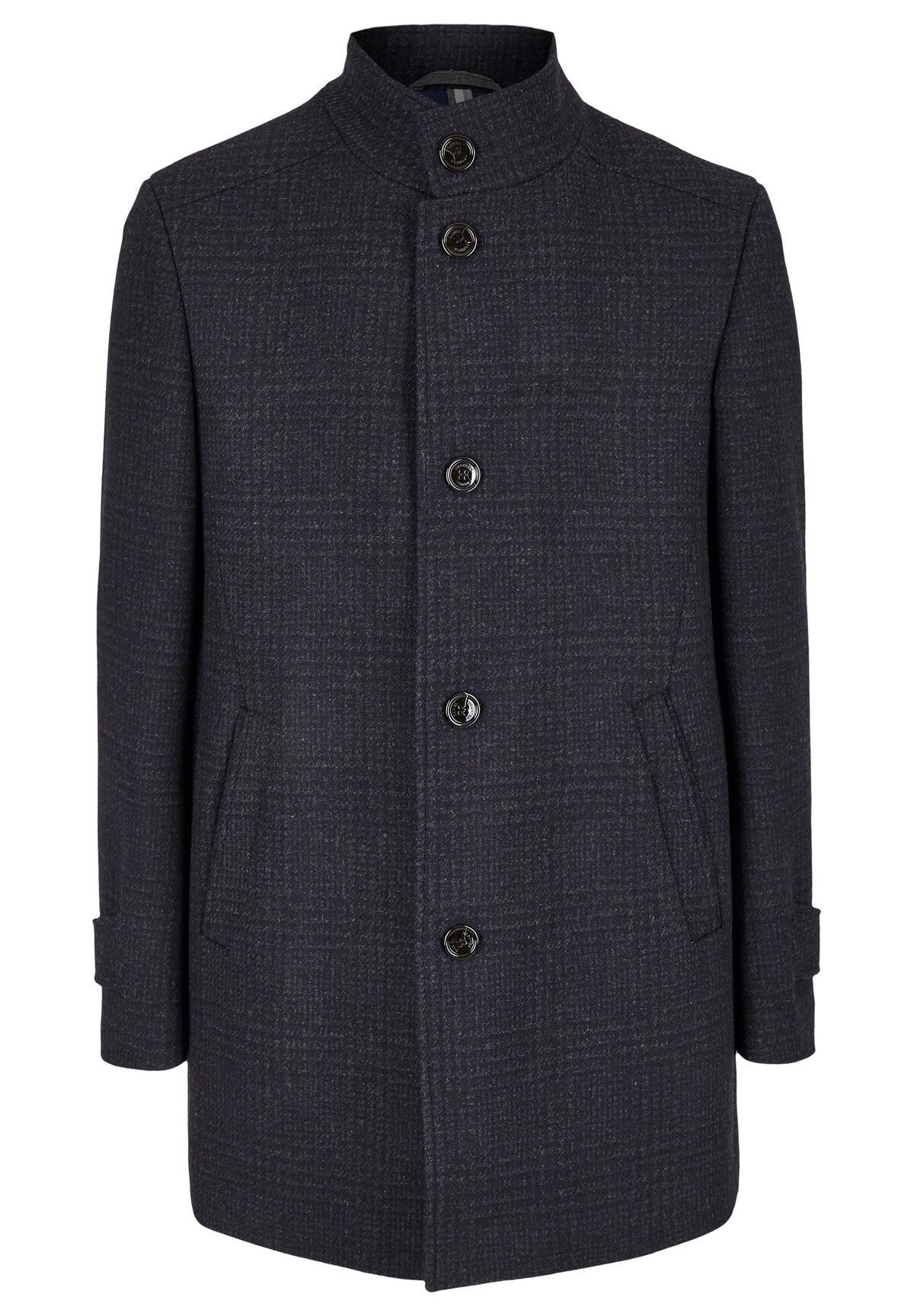 Manteau à carreaux /