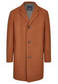 Manteau cintré en laine