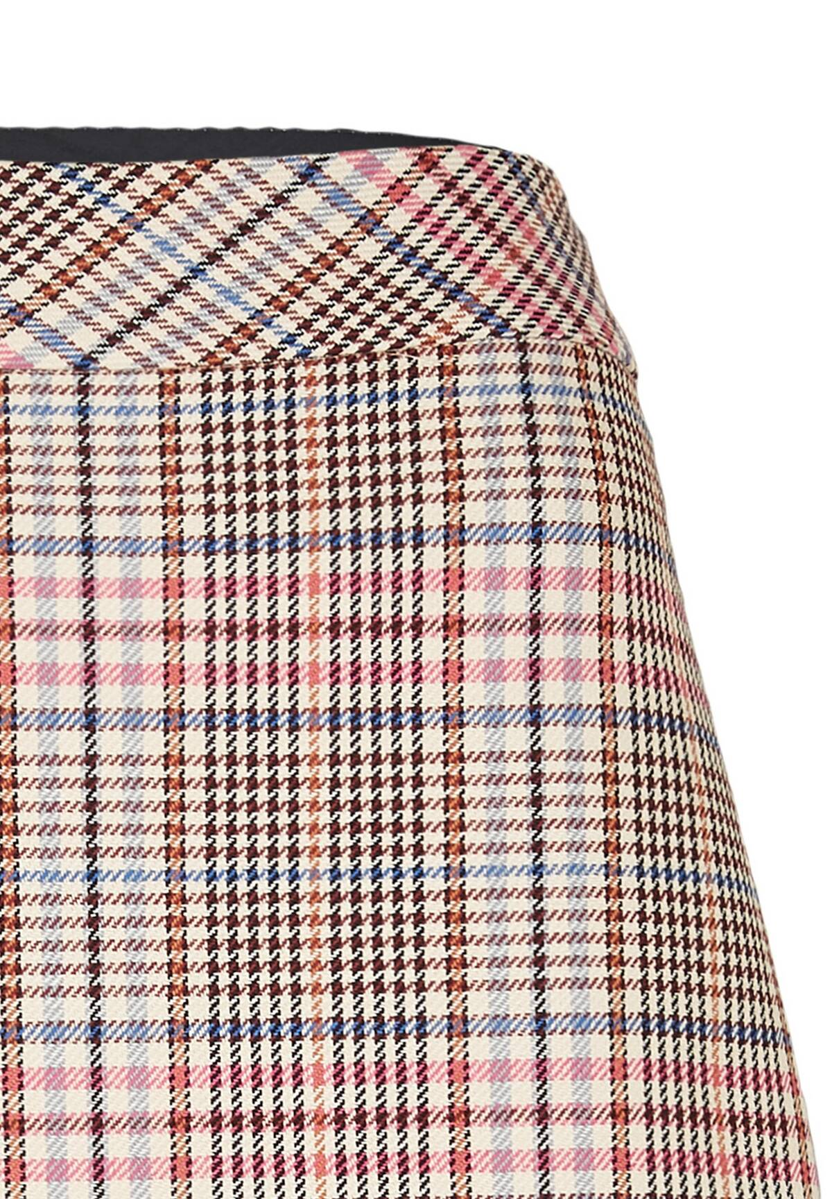 Eleganter Rock / Check Skirt