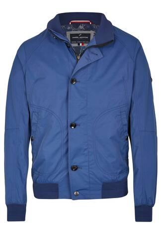 ca681571083c1 Lässige Sommer Blouson steel blue ...