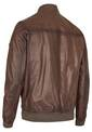 LEATHER-BLOUSON, gunmetal