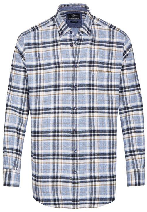 SHIRT REGULAR FIT, steel blue