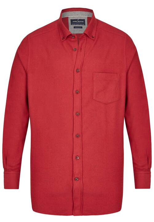 SHIRT REGULAR FIT, dark red