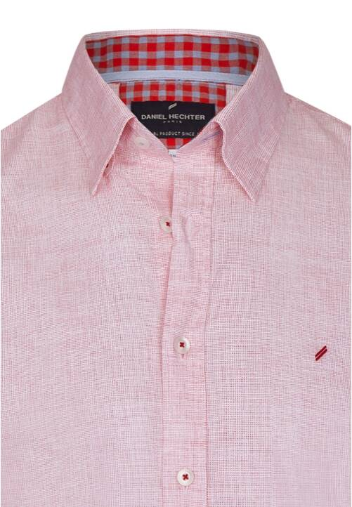SHIRT MODERN FIT, indian red
