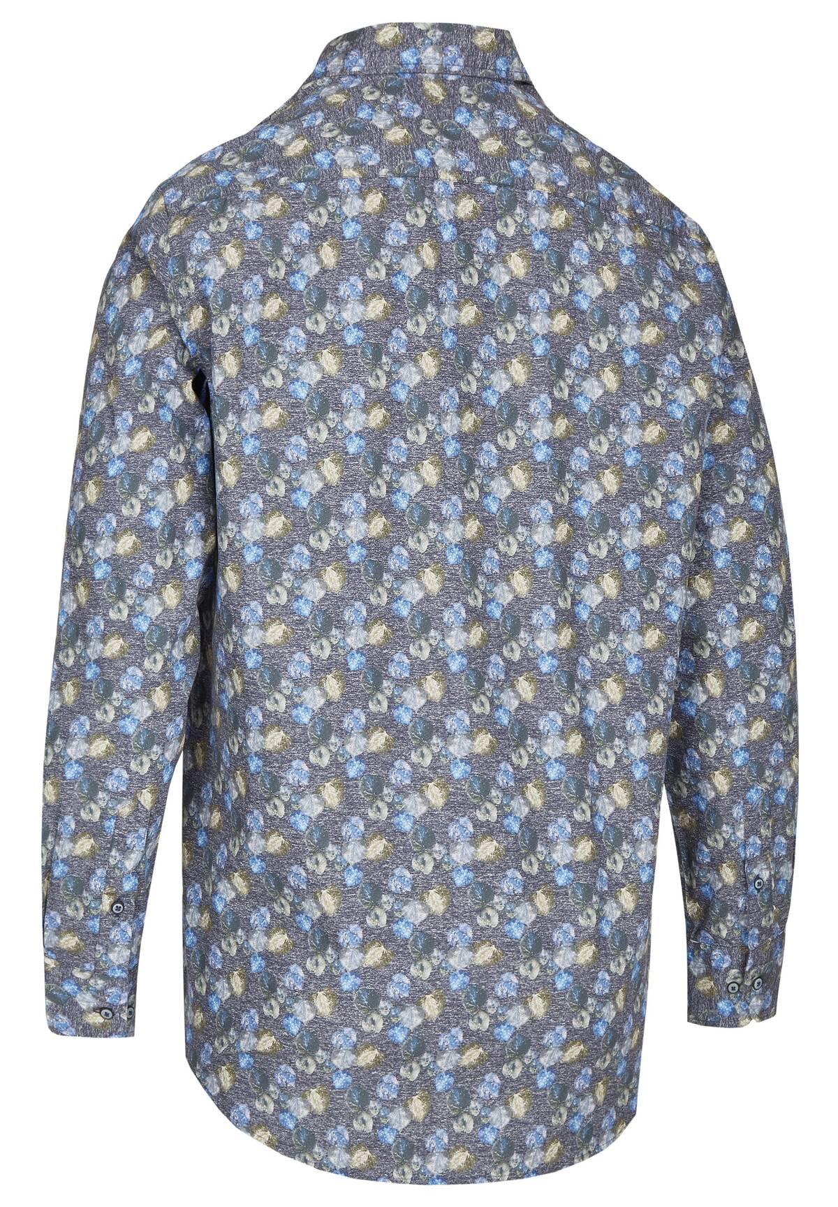 Chemise à motifs florals /