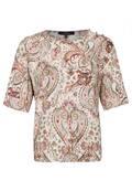 Modische Bluse im Paisley-Design