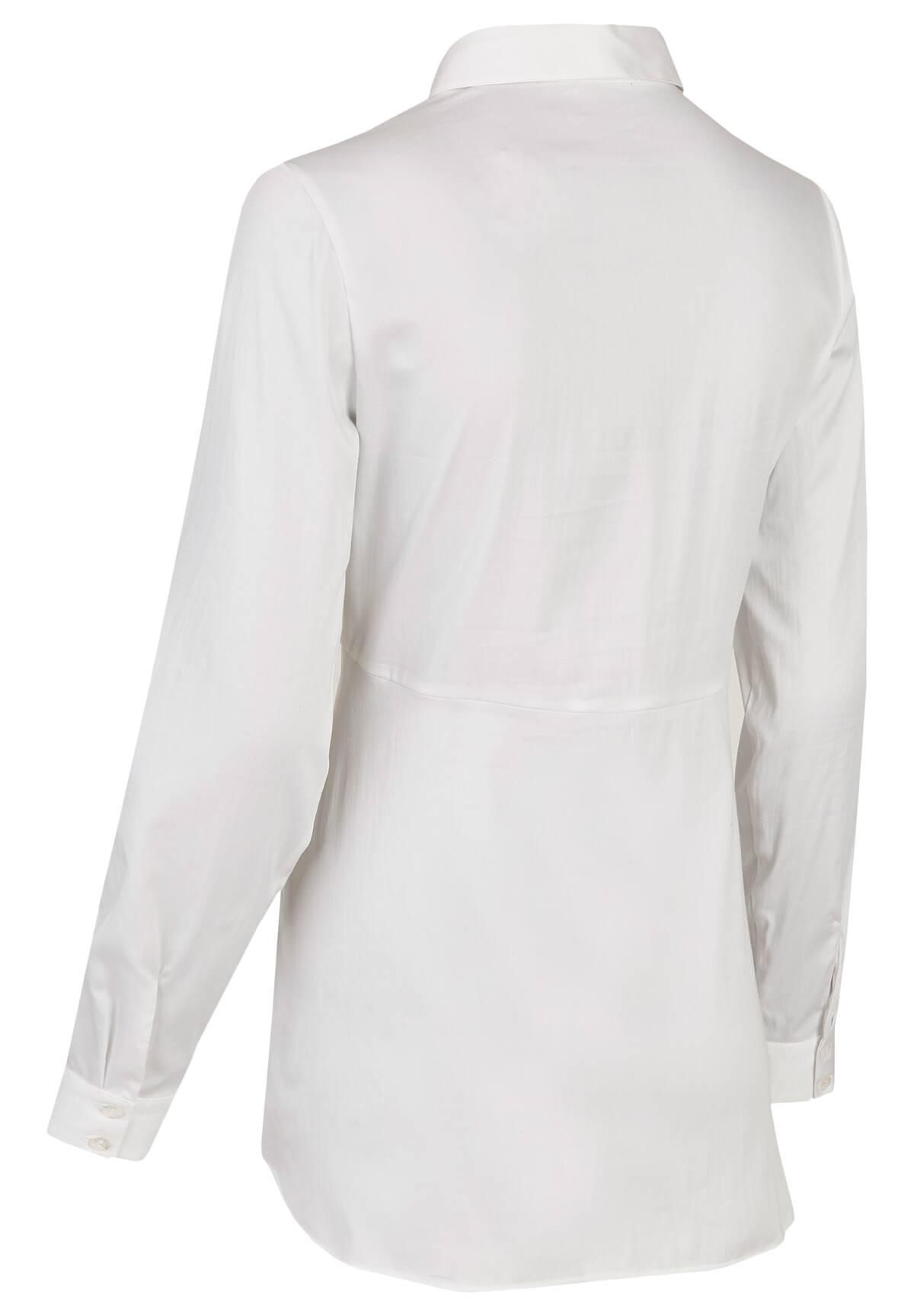 Elegante Bluse mit raffiniertem Schnitt / Blouse
