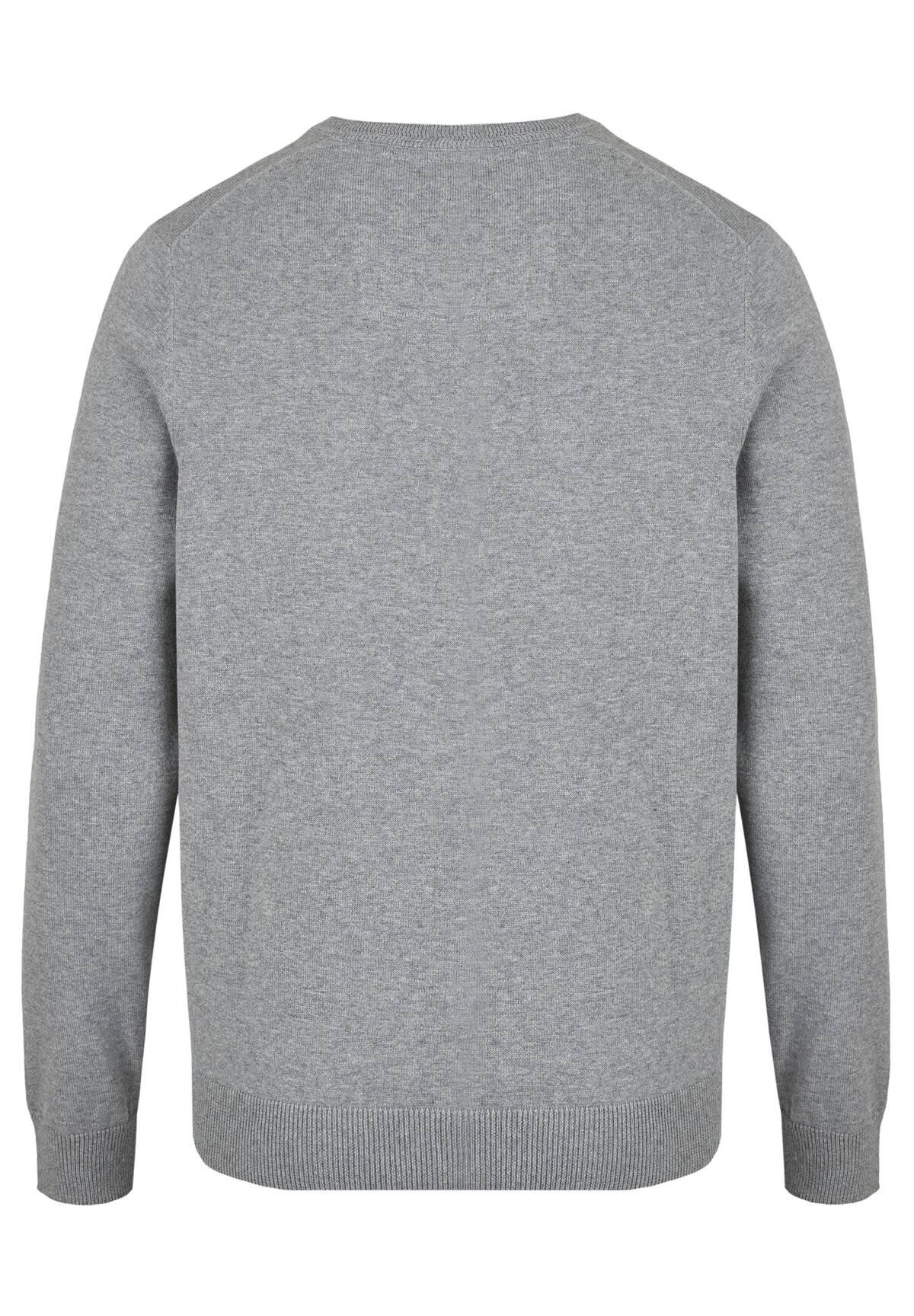 Pullover MODERN FIT Basic / KNIT V-NECK