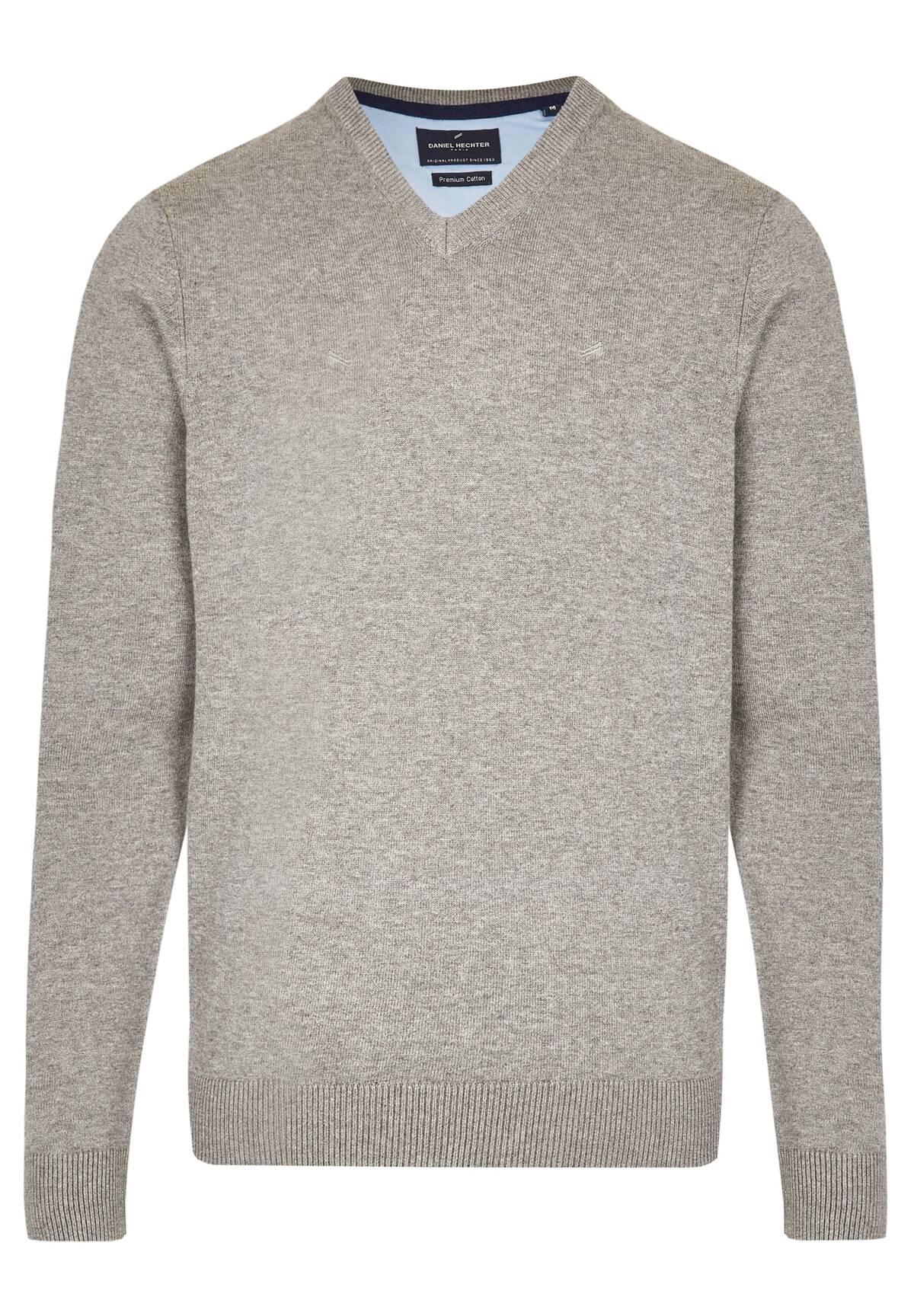 Essential-Pullover mit V-Ausschnitt / VNECK