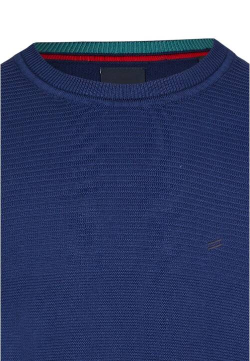 CREW NECK PULLOVER, midnight blue