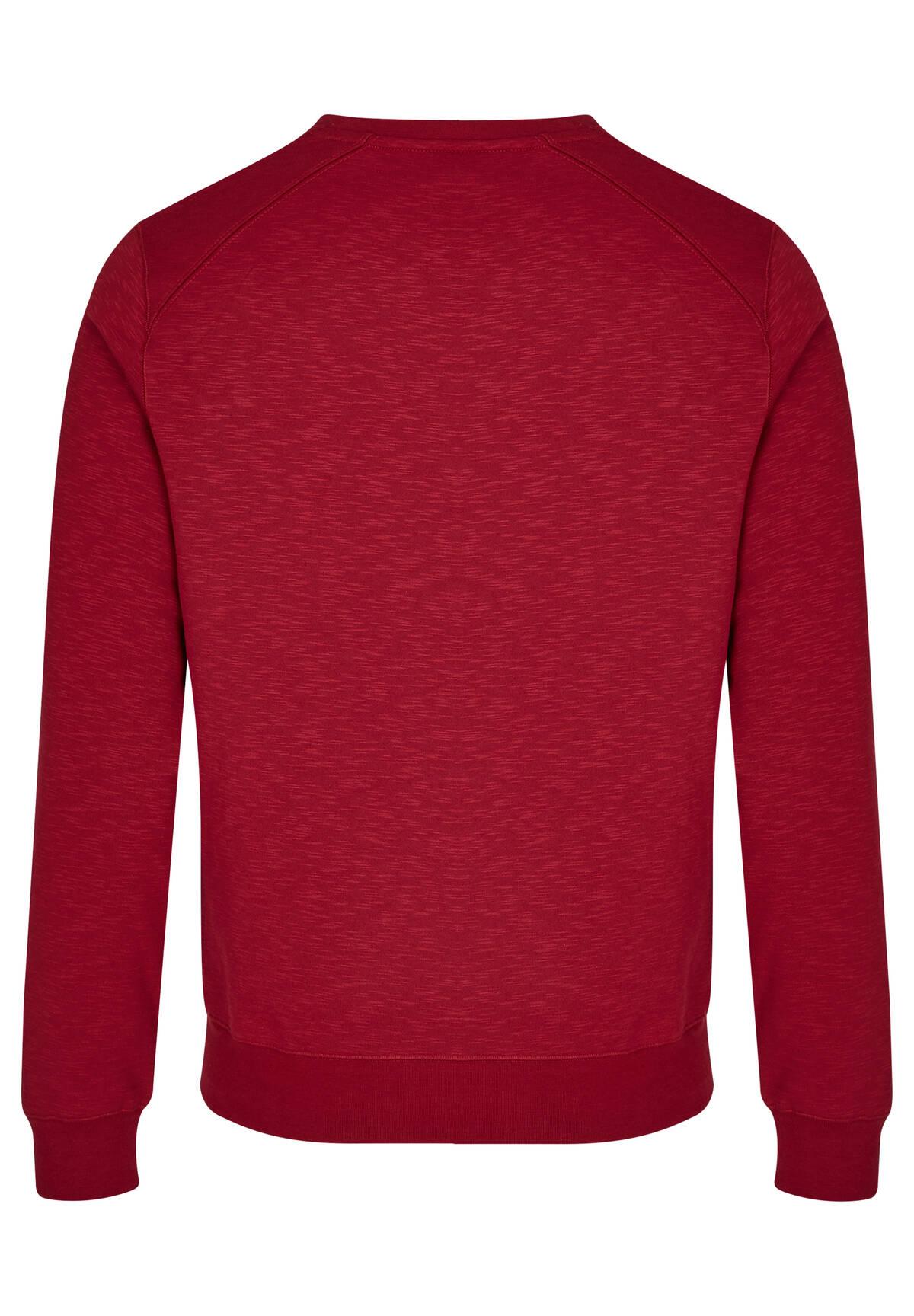 Sweatshirt en coton mélangé /