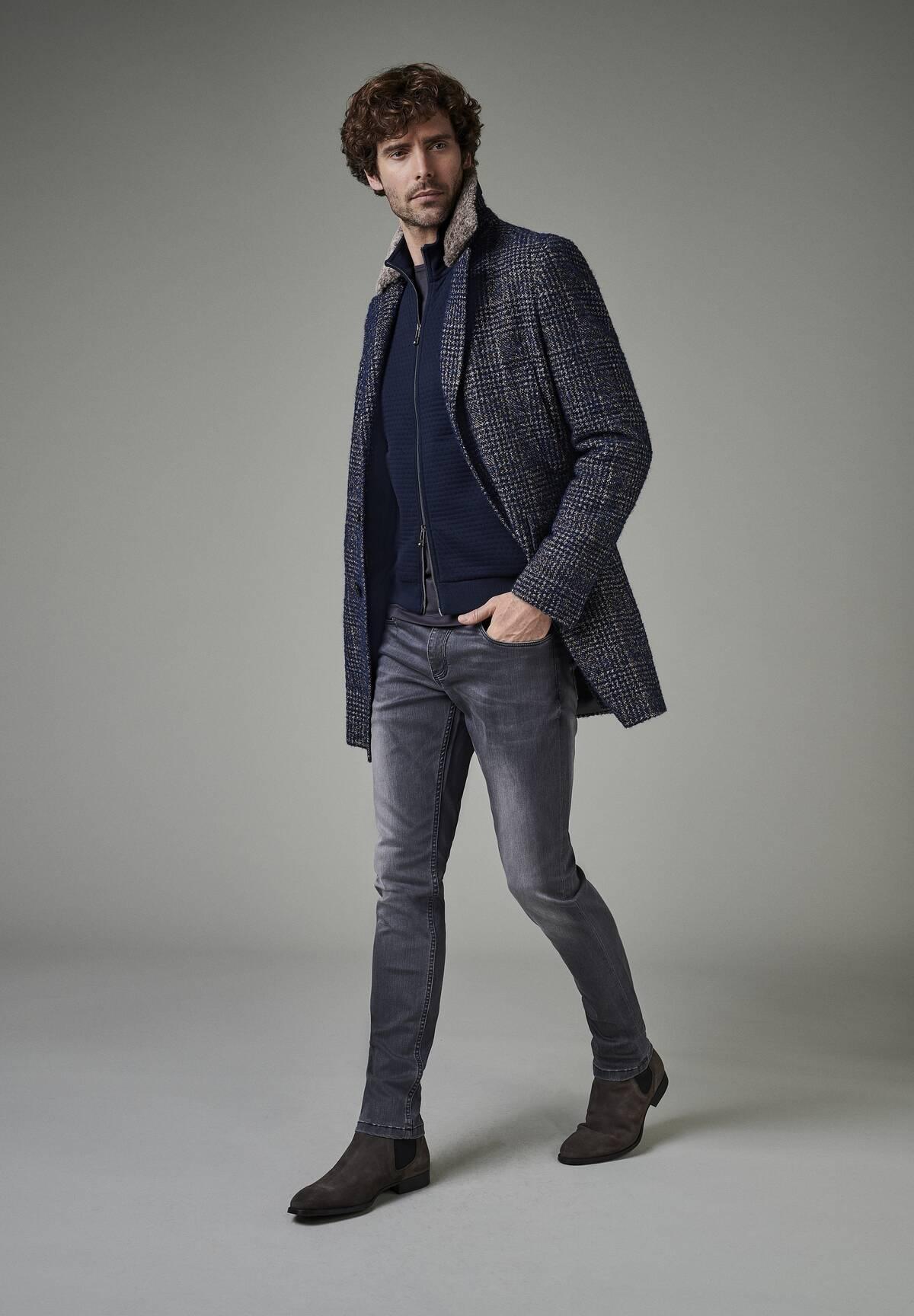 Gilet sweatshirt zippé /