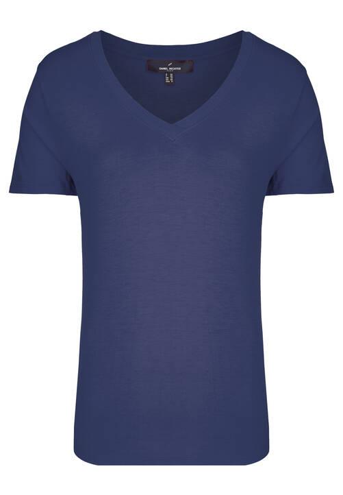 V-Neck Shirt, navy