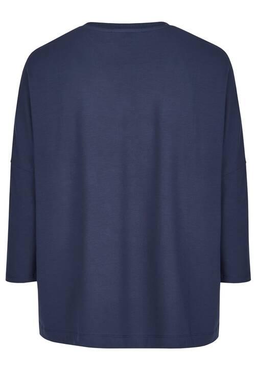 V-Neck Shirt, midnight blue