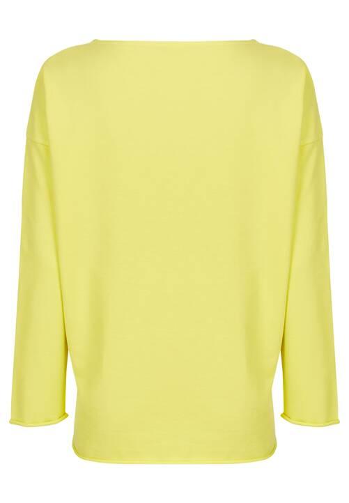 Casual Sweatshirt, lemon