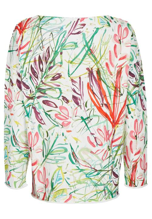 , floral white