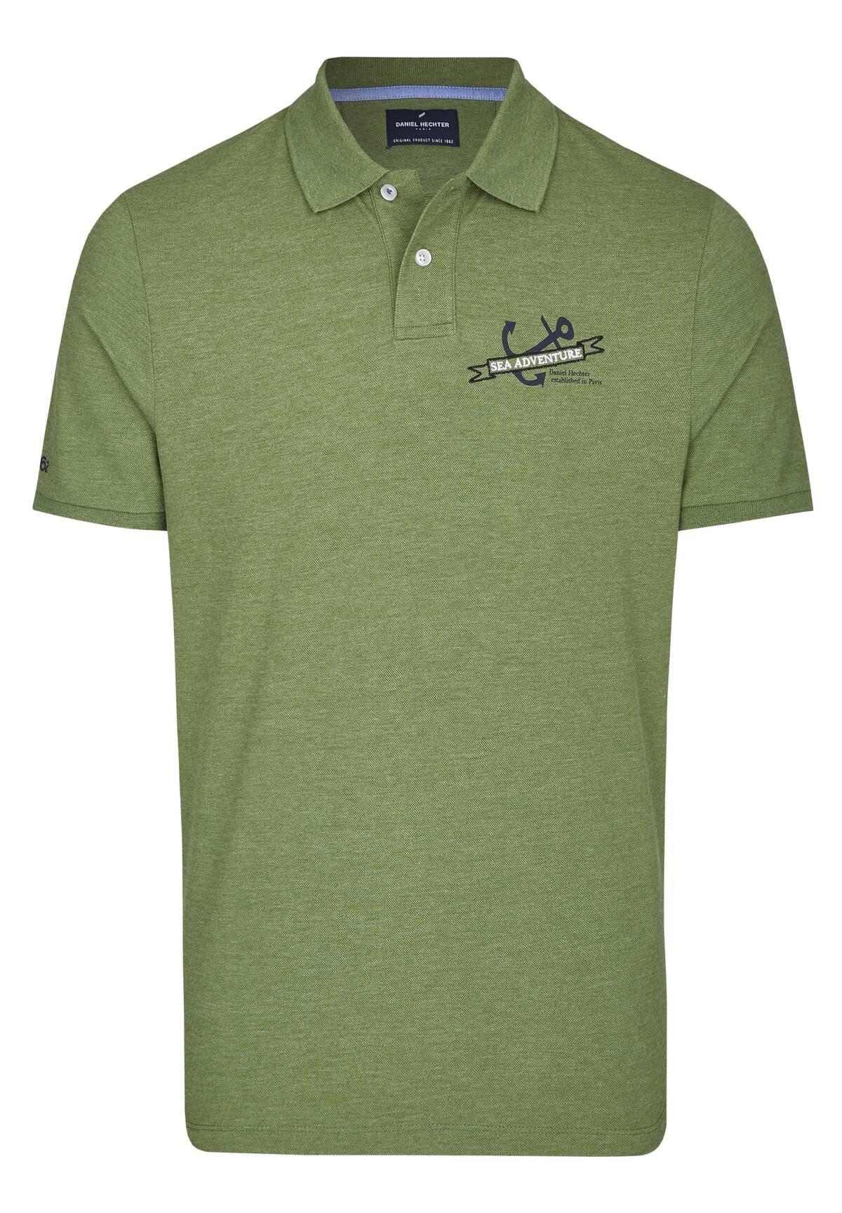 Maritimes Polo-Shirt / POLO PIQUE