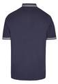 POLO PIQUEE STAND UP, navy