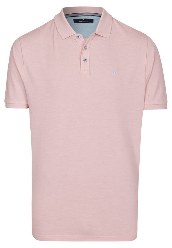 Artikel klicken und genauer betrachten! - Dieses moderne Poloshirt ist durch sein schlichtes Design ein Klassiker der sportiven Mode und vielseitig kombinierbar. Die kleine Stickerei setzt einen modischen Akzent. Der Polokragen lässt sich mit drei Knöpfen schließen und die Ärmel münden in elastischen Bündchen. Das Shirt aus reiner Baumwolle ist in Modern Fit Passform geschnitten. Modell: DAH-75017-101916   im Online Shop kaufen