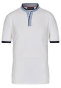 Stylisches Stehkragen Polo Shirt