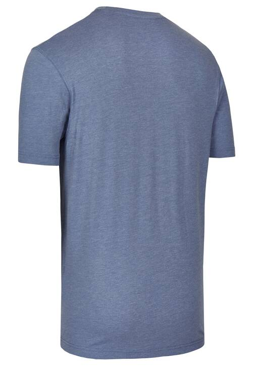 CREW NECK TSHIRT, steel blue