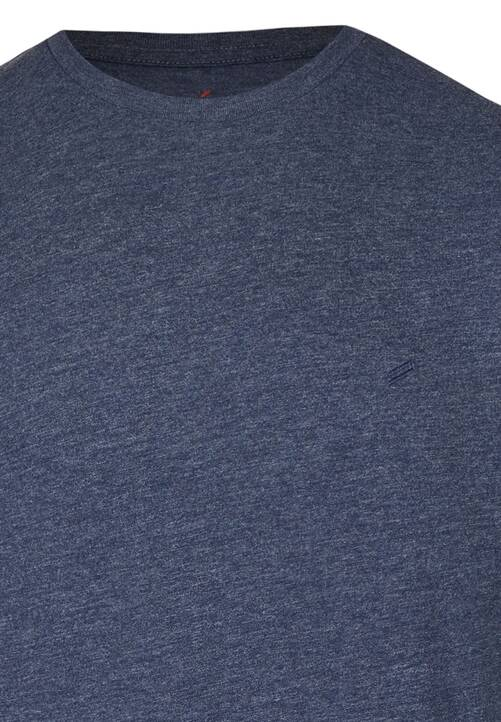 CREW NECK TSHIRT, midnight blue