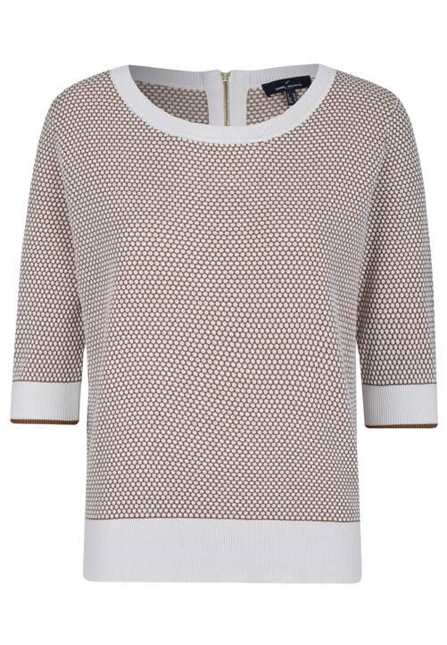 Round Neck Pullover, hazelnut